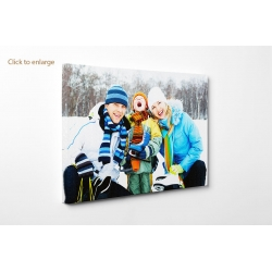 "Personalised photo canvas print your picture on 70x70cm - 28""x28"" Square"