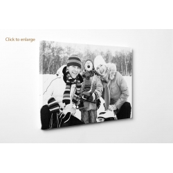 "Personalised photo canvas print your picture on 90x35cm - 36""x14"" Panoramic"