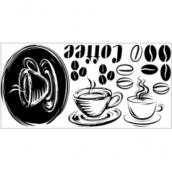 Wall Stickers - Coffee - Wall Decals 05