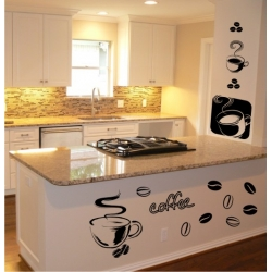 Wall Stickers - Coffee - Wall Decals 07