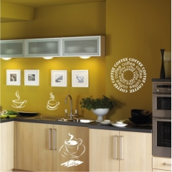 Wall Stickers - Coffee - Wall Decals 16