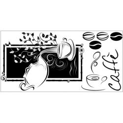 Wall Stickers - Coffee - Wall Decals 19