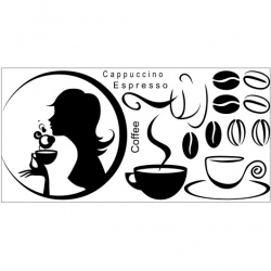 Wall Stickers - Coffee - Wall Decals 21
