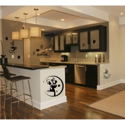 Wall Stickers - Coffee - Wall Decals 23