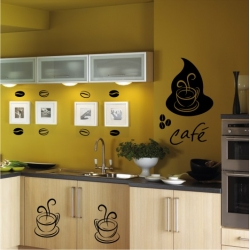 Wall Stickers - Coffee - Wall Decals 26