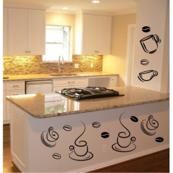 Wall Stickers - Coffee - Wall Decals 28