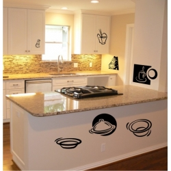 Wall Stickers - Coffee - Wall Decals 32