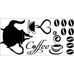 Wall Stickers - Coffee - Wall Decals 35
