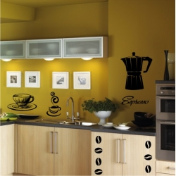 Wall Stickers - Coffee - Wall Decals 36