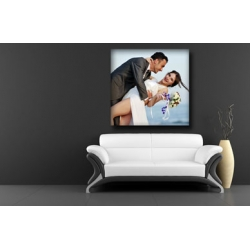 Personalised photo canvas print your picture on 30x30cm - 12