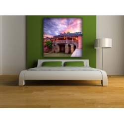 Personalised photo canvas print your picture on 70x70cm - 28